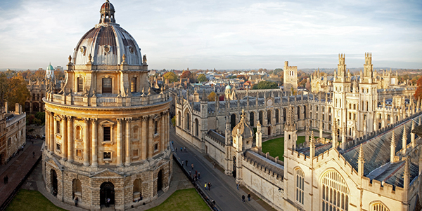 Oxford University Harry Potter Destinos de cine