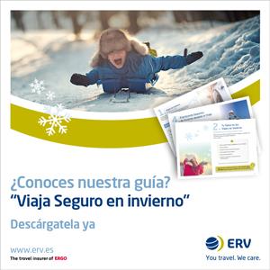 ERV presenta su guía para viajar seguros en invierno.